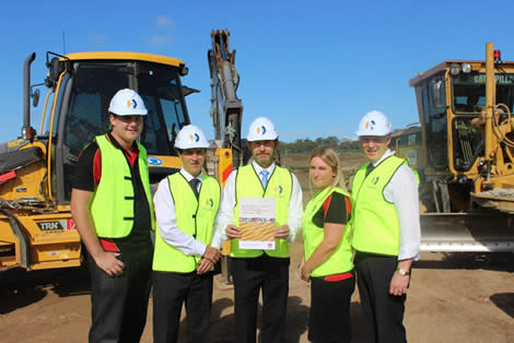 CCF NSW signed an Industry Based Agreement with the NSW Government on 24 February 2015